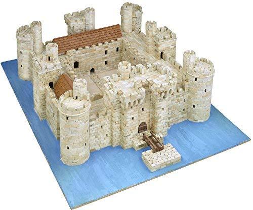Asiatische aedes101437x 26x 7cm Bodiam Castle Model Kit -