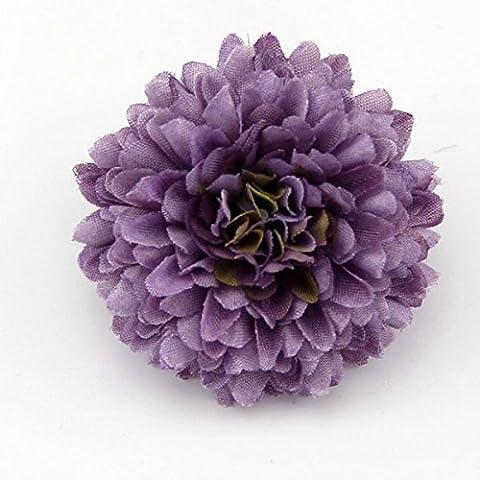 20Pcs peuvent mélanger soie Fleurs artificielles couleur Carnation Chef de partie de la décoration de Mariage Accueil Diy Scrapbooking Artisanat Cadeaux fleurs,