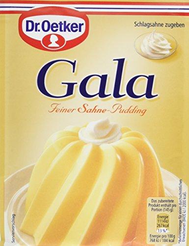 Dr. Oetker Gala Feiner Sahne-Pudding, 11er Pack (11 x 120 g)