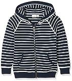 NAME IT Baby-Jungen Sweatjacke Nmmdanny LS Knit Card W Hood Box, Blau (Dress Blues Stripes:Stripes), 104