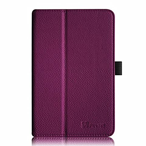 Fintie Acer Iconia Tab 8 A1-840 FHD Hülle – Hochwertige Kunstleder Slim Fit Stand Case Cover Schutzhülle Tasche Etui für Acer Iconia A1-840 FHD (8 Zoll) Tablet, Lila