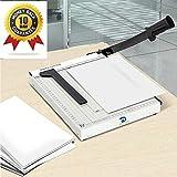Destello Paper Cutter Blade A4 Paper Trimmer Heavy Duty White Photo Guillotine Craft