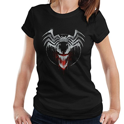 Marvel Venom Graffiti Women's T-Shirt Black