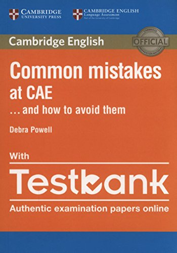 Common mistakes at CAE... and how to avoid them. Per le Scuole superiori. Con e-book. Con espansione online: 1