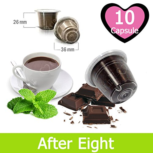 10 Capsulas After Eight Chocolate y Menta Compatibles Nespresso - Café Kickkick