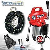 Rohrreinigungsgerät MINI Power 75 SET-I inkl. Spiralenschutzschlauch