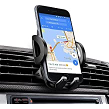 Soporte Movil Coche, iAmotus Universal Soporte de Smartphone para Rejillas del Aire de Coche Kit para iPhone X 8 7 6 6s Plus 5 5s SE, Samsung Galaxy Note S9 S8, LG, HTC, Smartphone y GPS Dispositivo