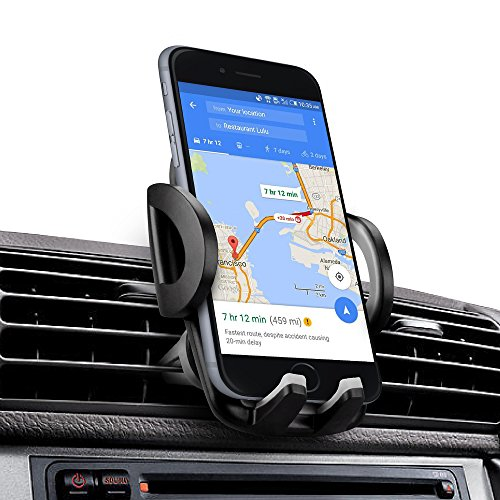 iAmotus KFZ-Autohalterung, Super stabile Air Vent Handy Halterung KFZ Halterung 360 ° verstellbar für iPhone X 8 7 6S Plus 5S Samsung Galaxy S8 S7 S6 Edge Nexus & Smartphones GPS Gerät