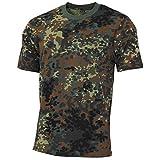 MFH US T-Shirt, Streetstyle, Flecktarn, 140-145 g/m² - L
