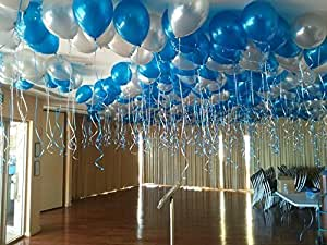 Kolar Balloons® Metallic HD Balloons for Birthday Blue and