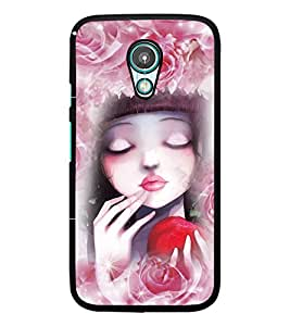PrintDhaba Cute Girl D-4058 Back Case Cover for MEIZU M1 NOTE (Multi-Coloured)