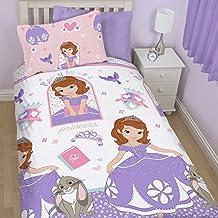 Disney Princesa Sofía - Set Funda nórdica y funda de almohada Reversible