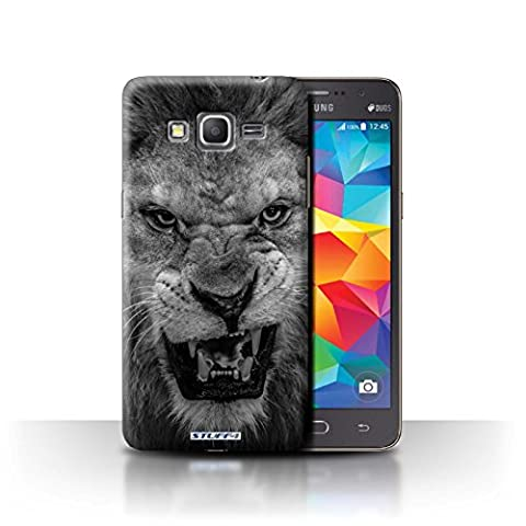 Coque de Stuff4 / Coque pour Samsung Galaxy Grand Prime / Lion Design / Animaux de zoo Collection
