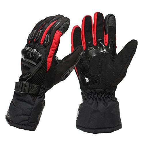 (Wooya Touch-Screen Handschuhe Winter Warm Winddicht Für Motorrad Fahrrad Ski Skateboard-L)