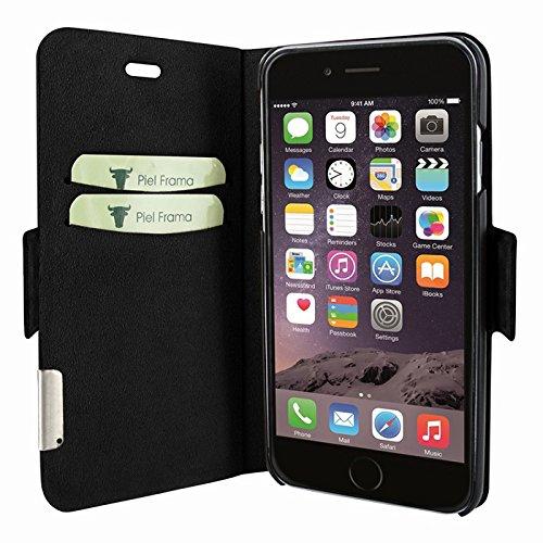 """Piel Frama """"FramaSlim"""" Lederhülle für Apple iPhone 7, verschiedene Farben Crocodile Black"""