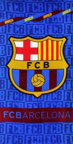Setino FCB 8021 FC Barcelona Strandtuch Badetuch 70cm x 140cm -