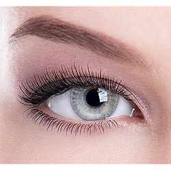 Colour Perfection Lot de 2 lentilles de contact colorées pour la beauté, le glamour, la couleur des yeux - Doux sans correction