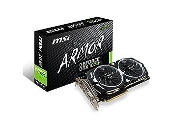 MSI GeForce GTX 1070 Ti Armor 8G 8GB GDDR5 256Bit DX12 Ekran Kartı