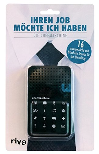 Männer Mini-köln (riva Verlag 9783742303967 Soundmaschine, Black)