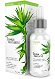 InstaNatural Vitamin C 25% Serum for Face with Hyaluronic Acid - Skin Brightening & Anti Aging Radiating Serum - Natural & Organic Ingredients - Reduces Wrinkles, Fine Lines, Crows Feet - 1 OZ