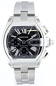 Pre-owned Cartier Roadster Mens Chronograph   Date Display Watch 2618