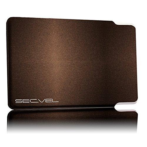 SECVEL Porte-cartes Premium Edition-Protection RFID-/NFC & champs magnétiques-Persian