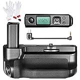 Neewer Pro Batteriegriff für Sony A6300 Kamera mit 2,4G drahtloser Fernbedienung, arbeitet mit 1 oder 2 NP-FW50 Batterie, 3-in-1 Reinigungs-Installationssatz