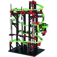fischertechnik Dynamic M – Juego Educativo y Divertido de Construcción de circuitos de canicas, 550 Piezas.