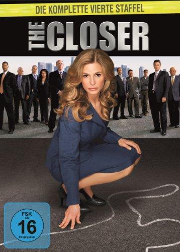 The Closer - Staffel 4 (4 DVDs)