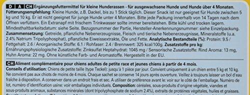 Pedigree DentaStix Hundesnack für kleine Hunde (5-10kg), Zahnpflege-Snack mit Huhn und Rind, 1 Packung je 56 Stück (1 x 880 g) - 4