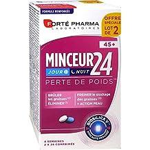 Forté Pharma Minceur 2445+ día y noche–Juego de 2x 28pastillas