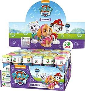 ColorBaby - Patrulla Canina Skye Everest Pomperos de jabón, 36 unidades (ColorBaby 76866)