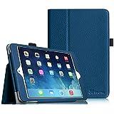 Fintie Apple iPad mini 1/2 / 3 Hülle - Slim Fit Foilo Kunstleder Schutzhülle Tasche Etui Case Cover mit Auto Schlaf/Wach, Standfunktion für iPad mini 3/2 / 1, Marineblau