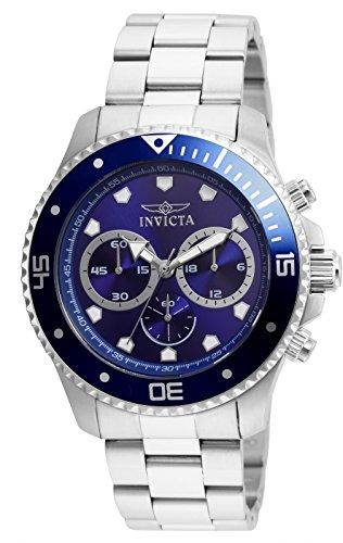 Invicta 21788 Pro Diver Reloj para Hombre acero inoxidable Cuarzo Esfera azul