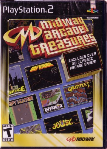 Midway Arcade Treasures - PlayStation 2 by Midway (Midway Arcade 2 Treasures)