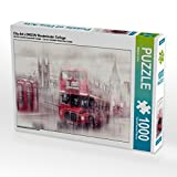 City-Art LONDON Westminster Collage 1000 Teile Puzzle quer