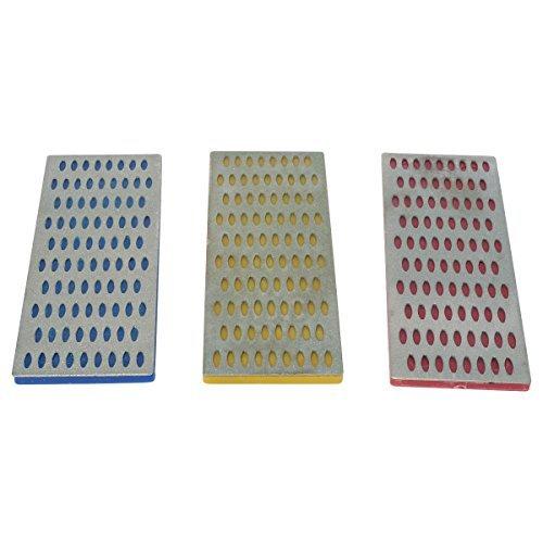 HTS 131H6 3 Pc Diamond Sharpening Blocks by HTS (Block Diamond Sharpening)
