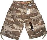 Sir Benni Miles Jeans Short Beach Bermuda Baggy Kurze Hose Khaki /Camouflage 103826 Größe W26 / Bundumfang ca. 70cm / Hosenlänge ca. 57