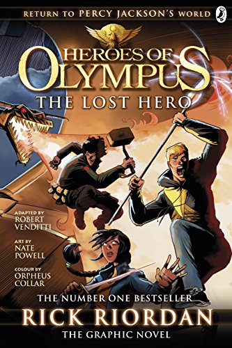 The lost hero : the graphic novel