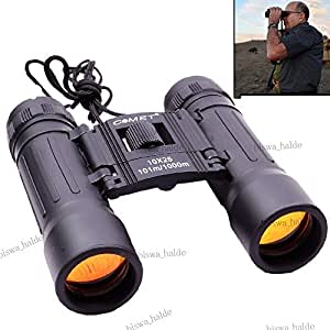 """Asmi""""s Comet 10X25 Zoom Camping Prism Binocular With Pouch (Black)"""