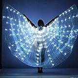 SHIOUCY Ägyptische Flügel LED Isis Flügel für Bühnen Weihnachten Cosplay Party Licht Show Kostüm