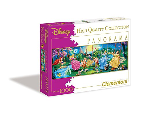 Clementoni 39135.6 - Puzzle Panorama Swinging Princess 1000 teilig