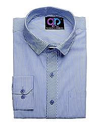 Koolpals Mens Cotton Formal Shirt (Kpms_Fs07_40Wodb _Multi-Coloured _40)