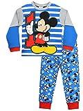 Disney - Pigiama a maniche lunga per ragazzi - Mickey Mouse - 5 a 6 Anni