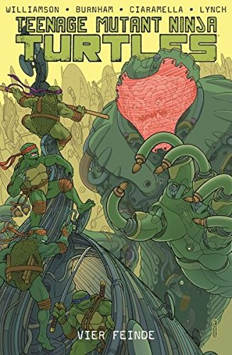 Teenage Mutant Ninja Turtles: Bd. 8: Vier Feinde