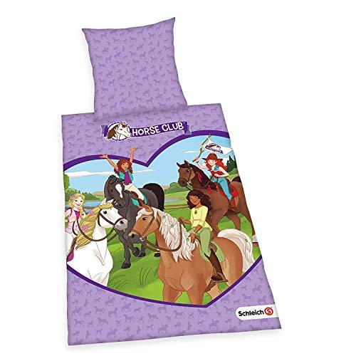 Cheyenne Bettwäsche (Bettwäsche glatt Schleich Horse Club Princess Hannah 135 x 200 Geschenk NEU Wow - All-In-One-Outlet-24 -)