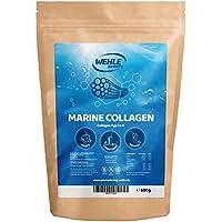 Marine Kollagen Pulver 500g (Einführungspreis) Collagen Hydrolysat Peptide Typ I und Typ II - Wehle Sports Fisch Kollagen Geschmacksneutral