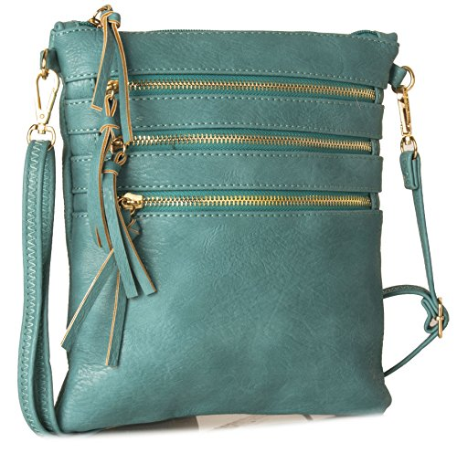 Big Handbag Shop - Borsa a tracolla donna Teal