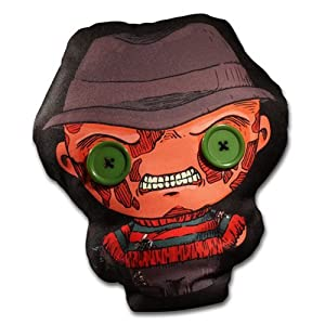 "A Nightmare on Elm Street Freddy 12"" Mezco Flatzo Plush 12"" Maletín Negro"