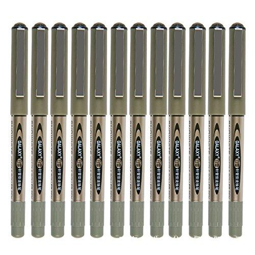 vlike-negro-clasico-boligrafo-de-punta-redonda-05-mm-punta-funda-serie-rapida-secado-pigmento-tinta-